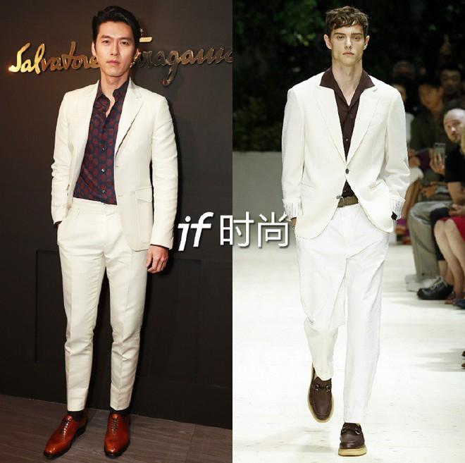 Sánh đôi cùng Huyn Bin tại hàng ghế đầu show thời trang, Mã Tư Thuần có phần nhạt nhòa kém sắc - Ảnh 3.