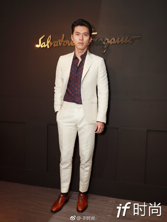 Sánh đôi cùng Huyn Bin tại hàng ghế đầu show thời trang, Mã Tư Thuần có phần nhạt nhòa kém sắc - Ảnh 2.