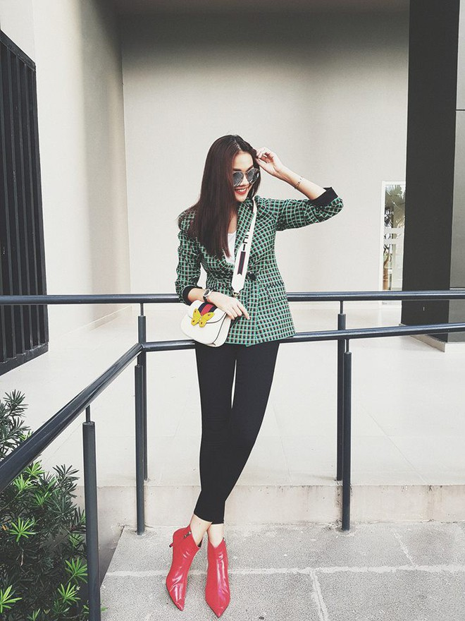 Thiết kế blazer của Zara có gì hot mà cả Thanh Hằng, Hương Giang Idol lẫn Á hậu Lệ Hằng thi nhau diện - Ảnh 1.