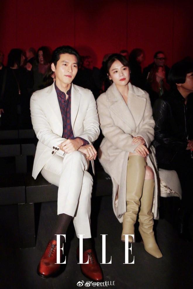 Sánh đôi cùng Huyn Bin tại hàng ghế đầu show thời trang, Mã Tư Thuần có phần nhạt nhòa kém sắc - Ảnh 6.