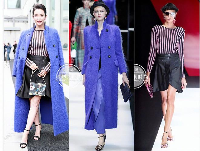Sánh đôi cùng Huyn Bin tại hàng ghế đầu show thời trang, Mã Tư Thuần có phần nhạt nhòa kém sắc - Ảnh 12.