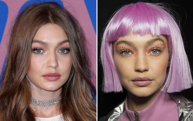 Bài học rút ra từ ảnh hậu trường xấu lạ của Gigi Hadid: xinh đến mấy mà makeup sai cũng vẫn kém sắc như thường - Ảnh 4.