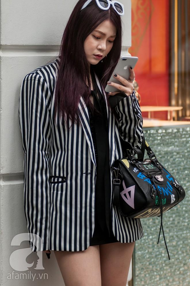 Diện blazer đẹp như các quý cô miền Bắc trong street style những ngày cuối tháng 2 - Ảnh 6.