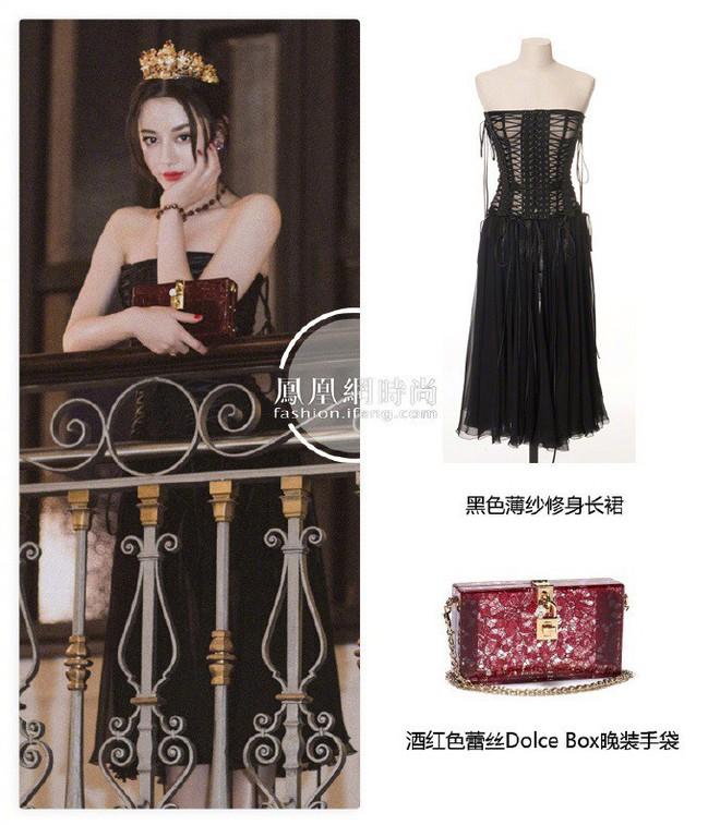 Địch Lệ Nhiệt Ba hóa công chúa sang chảnh, cùng Vương Tuấn Khải ngồi ghế đầu dự show Dolce & Gabbana - Ảnh 4.