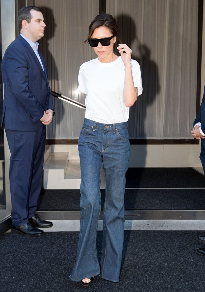 Victoria Beckham và những chiếc quần jeans chẳng mấy khi giặt - Ảnh 3.