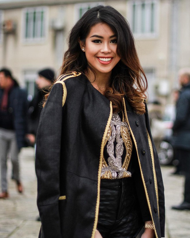 Thảo Tiên - em chồng Hà Tăng sang chảnh ở trời Âu dự show thời trang, mang theo cả núi đồ hiệu - Ảnh 15.