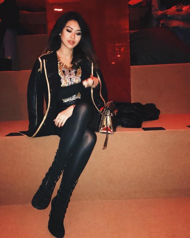Thảo Tiên - em chồng Hà Tăng sang chảnh ở trời Âu dự show thời trang, mang theo cả núi đồ hiệu - Ảnh 17.