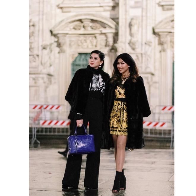 Thảo Tiên - em chồng Hà Tăng sang chảnh ở trời Âu dự show thời trang, mang theo cả núi đồ hiệu - Ảnh 9.