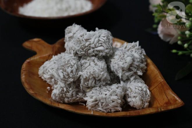 Dẻo mềm hấp dẫn món bánh khoai môn tẩm dừa - Ảnh 6.