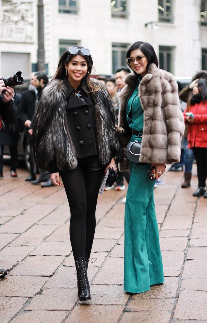 Mùa này nước ta làm gì có ai bay show ác liệt tại Milan Fashion Week hơn là Thảo Tiên - em chồng Hà Tăng - Ảnh 3.