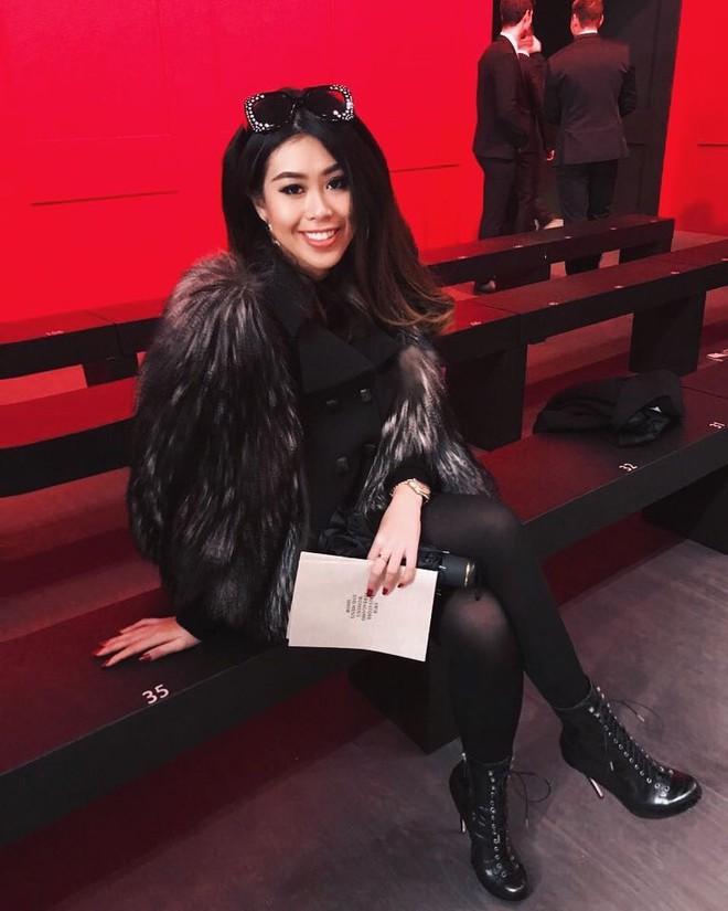Mùa này nước ta làm gì có ai bay show ác liệt tại Milan Fashion Week hơn là Thảo Tiên - em chồng Hà Tăng - Ảnh 4.