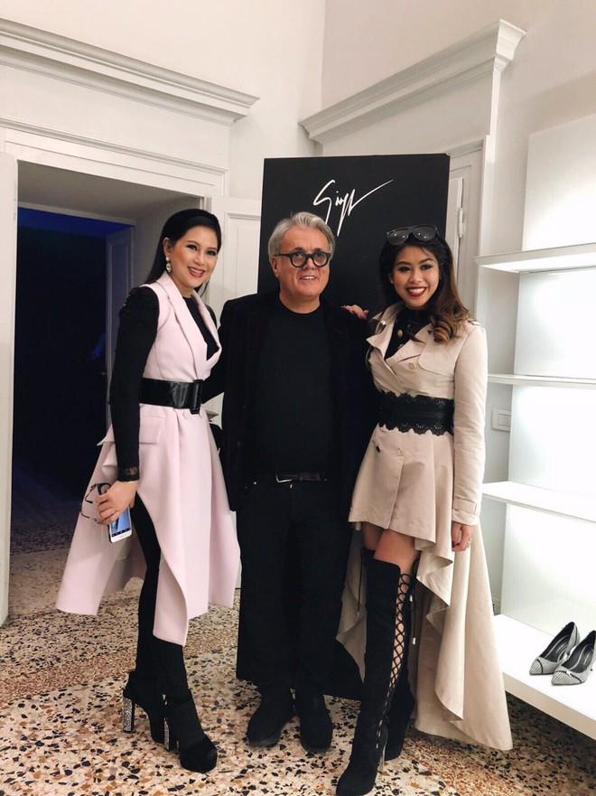 Mùa này nước ta làm gì có ai bay show ác liệt tại Milan Fashion Week hơn là Thảo Tiên - em chồng Hà Tăng - Ảnh 5.