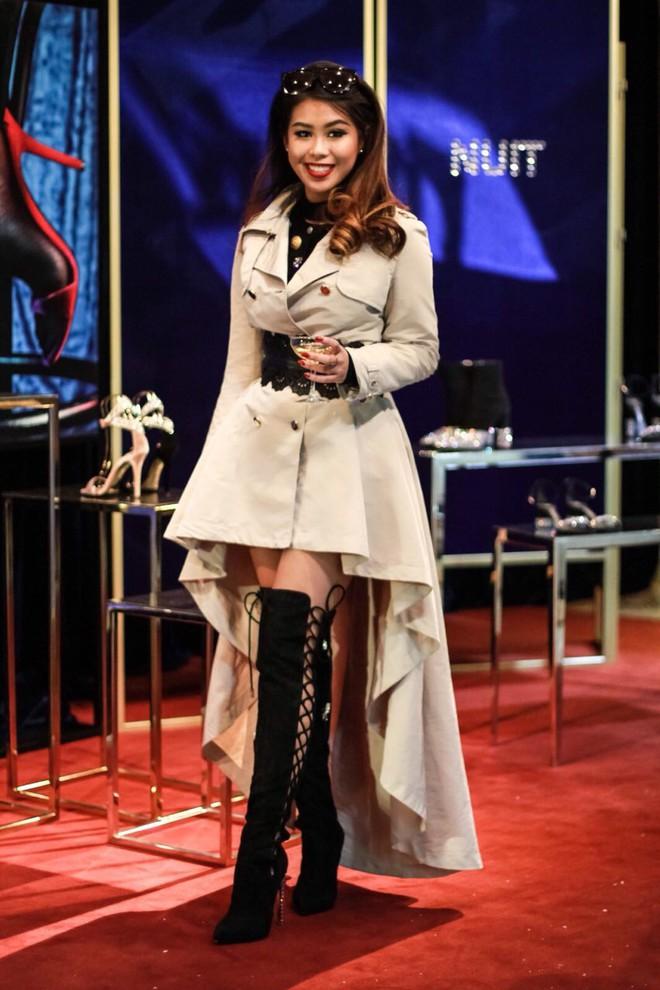 Mùa này nước ta làm gì có ai bay show ác liệt tại Milan Fashion Week hơn là Thảo Tiên - em chồng Hà Tăng - Ảnh 6.