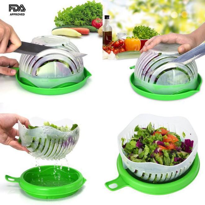 Giảm cân nhanh hậu Tết với sự giúp sức của trọn bộ dụng cụ tiện ích làm salad - Ảnh 3.