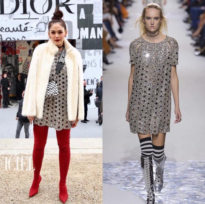 Hai bà mẹ bỉm sữa nổi tiếng cùng nhau đọ sắc tại show diễn thời trang Dior - Ảnh 7.