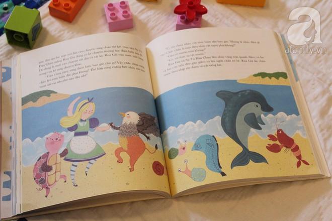 Cuốn sách tuyệt vời nuôi dưỡng trí thông minh cảm xúc cho bé từ trong bụng mẹ - Ảnh 4.