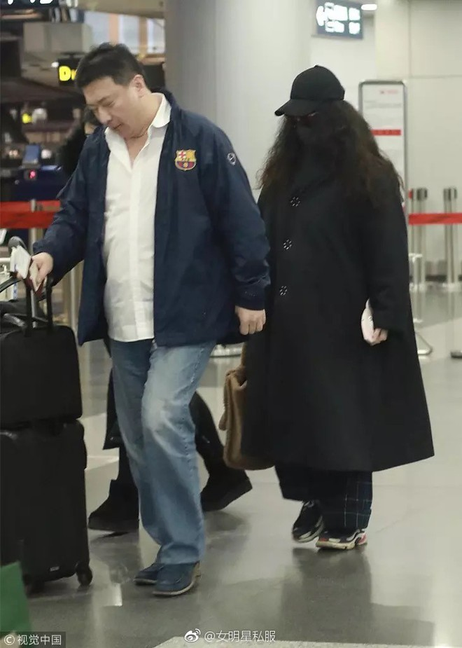 Trang phục thì lùng bùng, tóc tai xoăn xù khó tả, nhìn Phạm Băng Băng cứ như bản sao của giáo sư Hagrid trong Harry Potter - Ảnh 3.