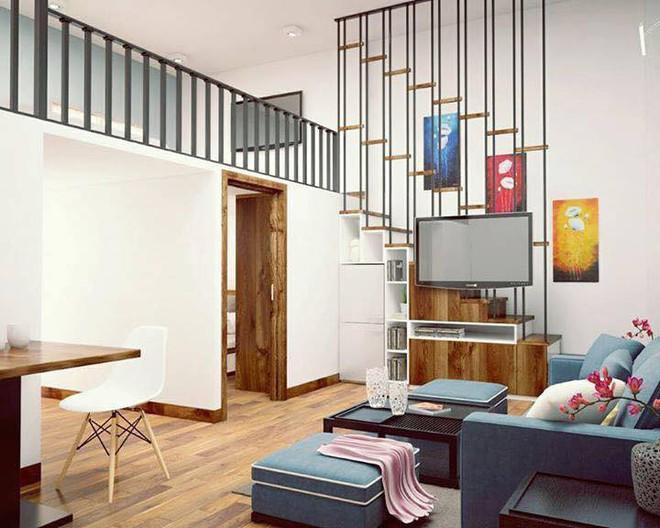 Ngắm 2 căn hộ tuy chỉ 35m² nhưng có 2 phòng ngủ đang khiến nhiều người ao ước - Ảnh 2.