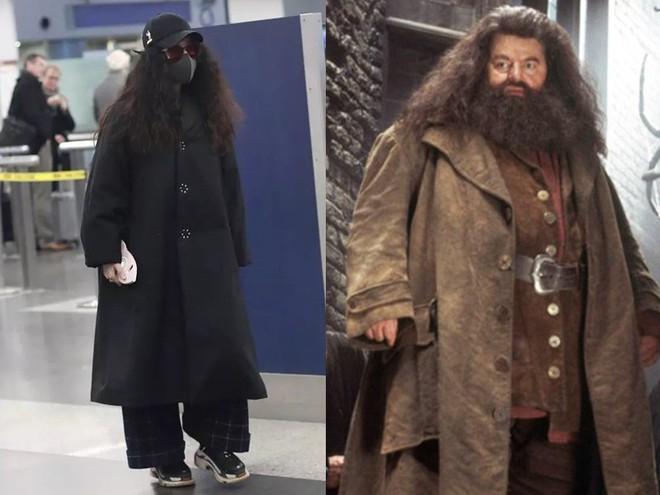 Trang phục lùng bùng, tóc xoăn xù khó tả, nhìn Phạm Băng Băng cứ như bản sao của nhân vật Hagrid trong Harry Potter - Ảnh 5.