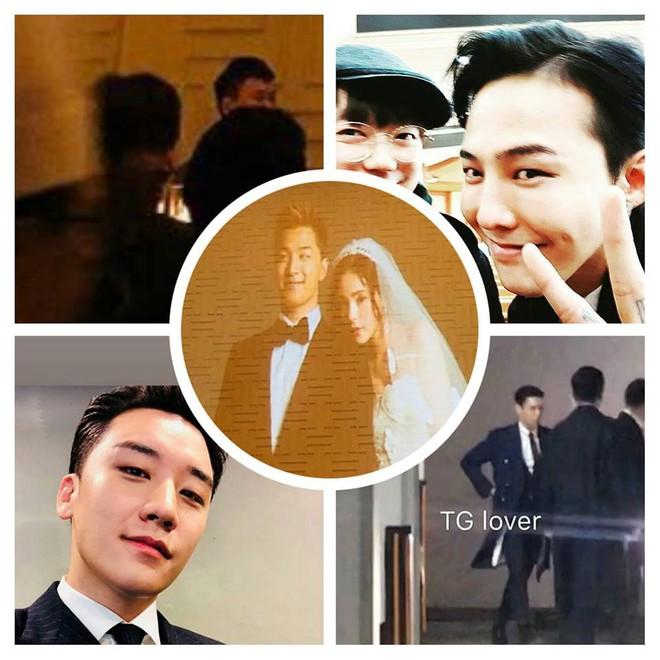 Niềm vui nhân đôi với fan Bigbang: Cuối cùng T.O.P cũng đã xuất hiện trong đám cưới Taeyang và Min Hyorin - Ảnh 3.