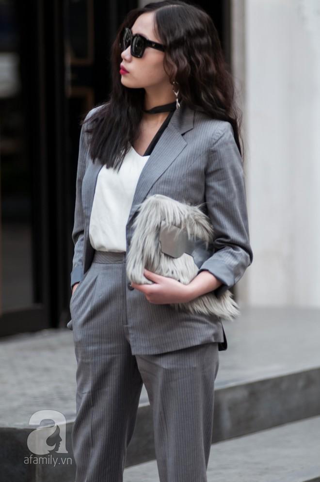 Diện blazer đẹp như các quý cô miền Bắc trong street style những ngày cuối tháng 2 - Ảnh 14.