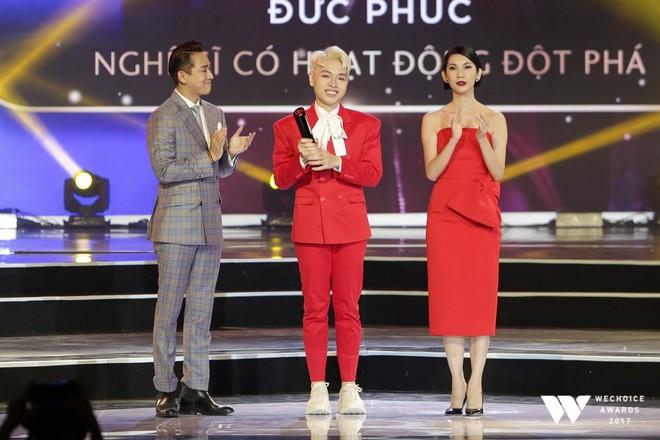 Sơn Tùng M-TP và cô trò Mỹ Tâm - Đức Phúc thắng lớn tại Wechoice Awards 2017 - Ảnh 6.