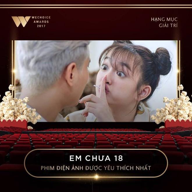 Sơn Tùng M-TP và cô trò Mỹ Tâm - Đức Phúc thắng lớn tại Wechoice Awards 2017 - Ảnh 7.