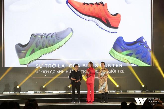 Không diện váy vóc điệu đà, HHen Niê và Kỳ Duyên vẫn tỏa sáng rực rỡ trên thảm đỏ Wechoice Awards 2017 - Ảnh 4.