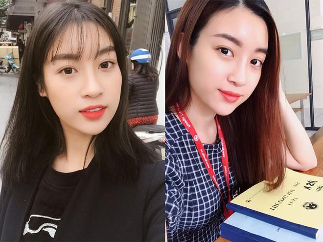 Hoa hậu Đỗ Mỹ Linh trẻ xinh ra vài tuổi khi cắt mái lưa thưa - Ảnh 5.