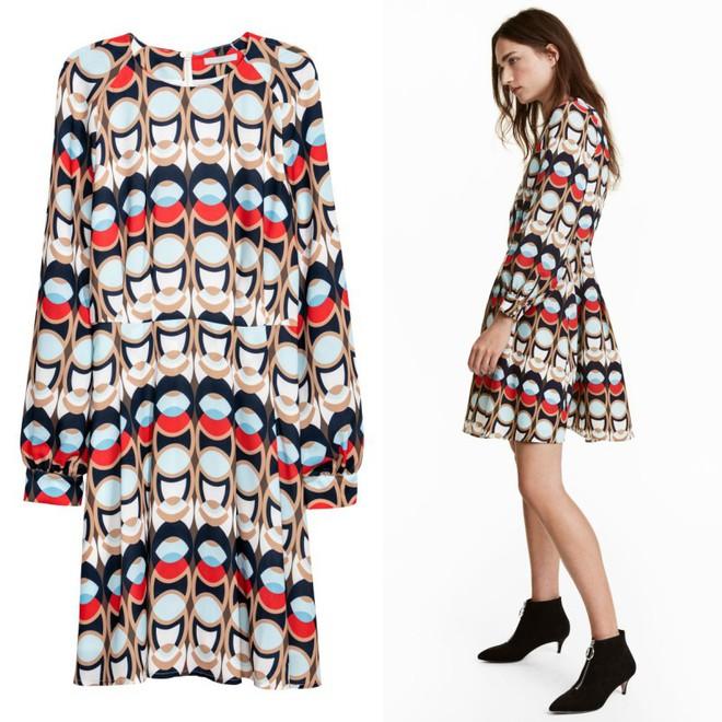 Dạo 1 vòng H&M và Zara, bạn có thể vơ được cả rổ váy đỏ có giá dưới 1 triệu mà tha hồ diện Tết này - Ảnh 12.