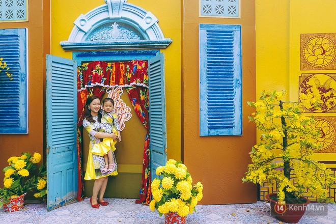 Nhiều người kiếm tiền triệu mỗi ngày nhờ cho thuê áo dài Tết chụp hình tại phố ông đồ Sài Gòn - Ảnh 20.