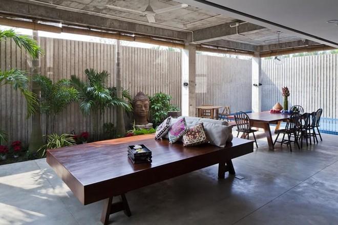 Thổi gió vào nhà với biệt thự phong cách nhiệt đới - Ảnh 5.