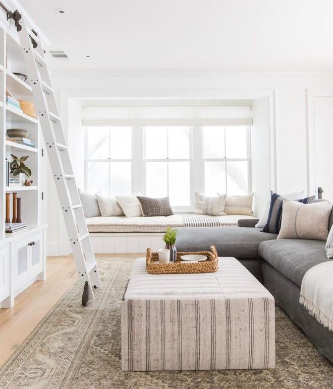 Mẹo hay trang trí với ghế đệm dài siêu to giúp ngôi nhà thêm khang trang, sáng sủa - Ảnh 14.