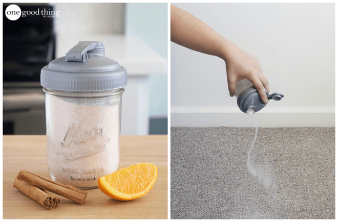 Mẹo hay khử mùi ẩm mốc từ thảm do trời nồm bằng nguyên liệu rẻ tiền, có sẵn trong bếp nhà bạn - Ảnh 1.