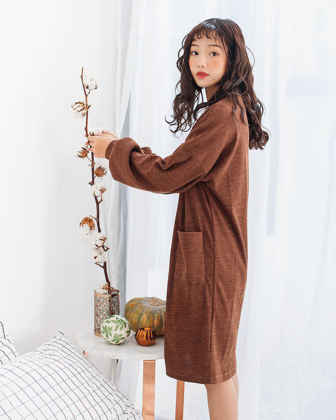 Tết này dự báo trời lạnh, và đây là những mẫu váy len vừa đẹp vừa ấm dành cho các nàng - Ảnh 5.