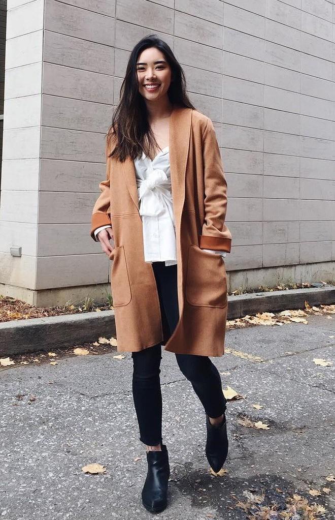 Mùa đông suốt ngày mặc áo khoác dáng dài, nhưng mix sao cho đúng thì bạn đừng bỏ qua 6 công thức sau - Ảnh 3.
