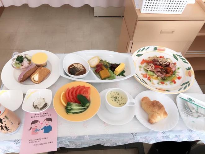 Mẹ Việt ở Nhật kể chuyện sinh con đầu lòng và bữa cơm bệnh viện với những món cực lạ - Ảnh 5.