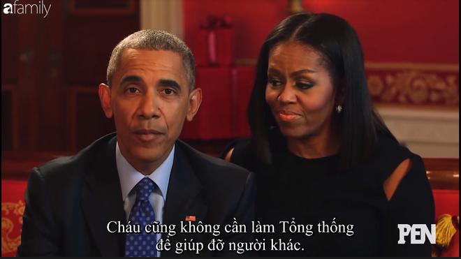 Cười ngất khi Đệ nhất phu nhân Michelle liên tục nói xấu Cựu tổng thống Barack Obama trên truyền hình - Ảnh 7.