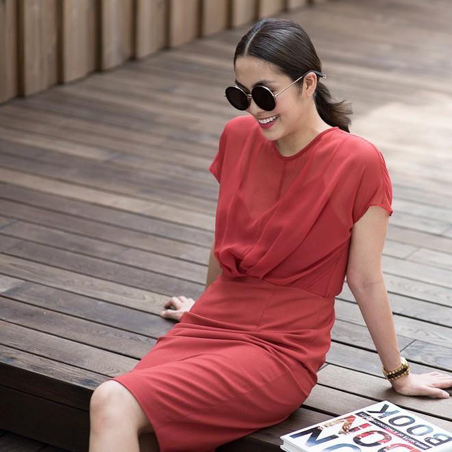 Không chỉ khéo mặc đồ, mà Tăng Thanh Hà còn khéo cả việc chọn kiểu tóc hợp với trang phục - Ảnh 9.