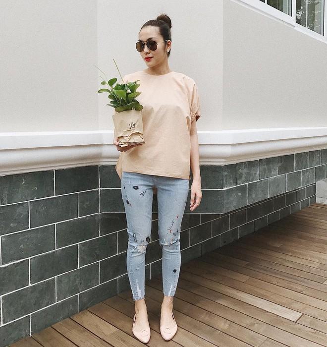 Không chỉ khéo mặc đồ, mà Tăng Thanh Hà còn khéo cả việc chọn kiểu tóc hợp với trang phục - Ảnh 4.