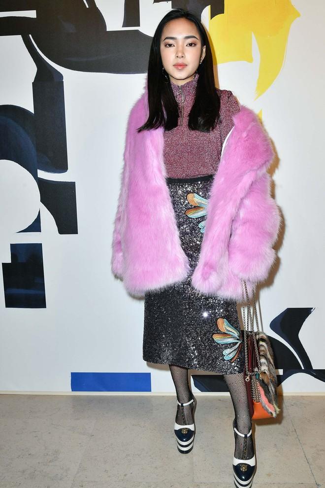 Châu Bùi và Kelbin Lei cùng dàn fashionista đình đám dự show H&M tại Tuần lễ thời trang Paris - Ảnh 1.