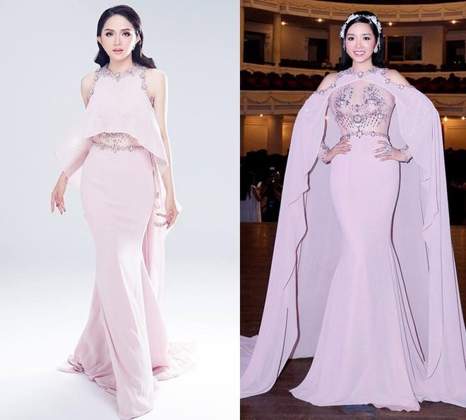 ĐỈnh cao nhan sắc như Hoa hậu Hương Giang, có đụng hàng váy áo thì vẫn không hề bị lấn lướt  - Ảnh 4.