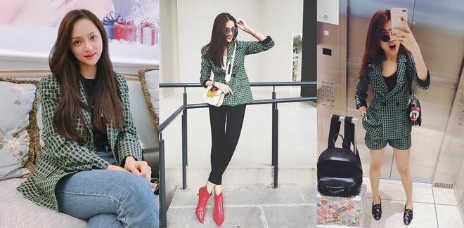 ĐỈnh cao nhan sắc như Hoa hậu Hương Giang, có đụng hàng váy áo thì vẫn không hề bị lấn lướt  - Ảnh 2.