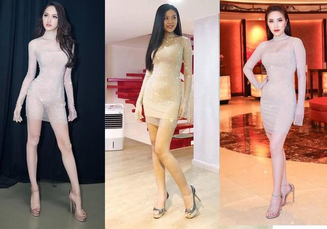 ĐỈnh cao nhan sắc như Hoa hậu Hương Giang, có đụng hàng váy áo thì vẫn không hề bị lấn lướt  - Ảnh 1.