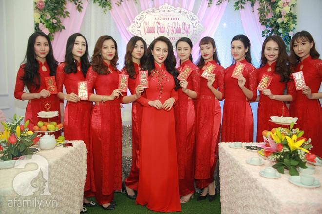 Khắc Việt cùng dàn trai đẹp showbiz mang lễ đến ăn hỏi bạn gái hotgirl - Ảnh 19.
