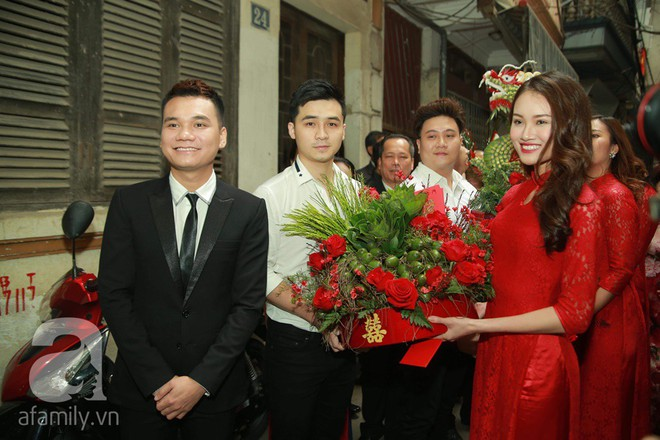 Khắc Việt cùng dàn trai đẹp showbiz mang lễ đến ăn hỏi bạn gái hotgirl - Ảnh 9.