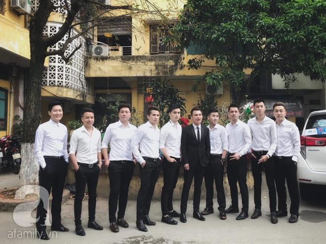Khắc Việt cùng dàn trai đẹp showbiz mang lễ đến ăn hỏi bạn gái hotgirl - Ảnh 1.