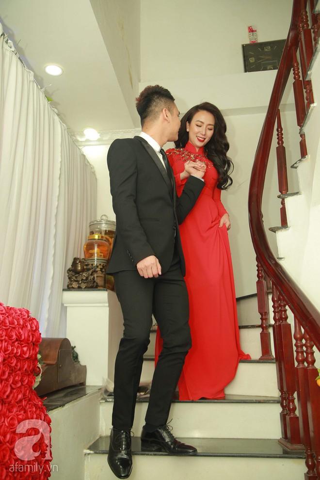 Khắc Việt cùng dàn trai đẹp showbiz mang lễ đến ăn hỏi bạn gái hotgirl - Ảnh 27.