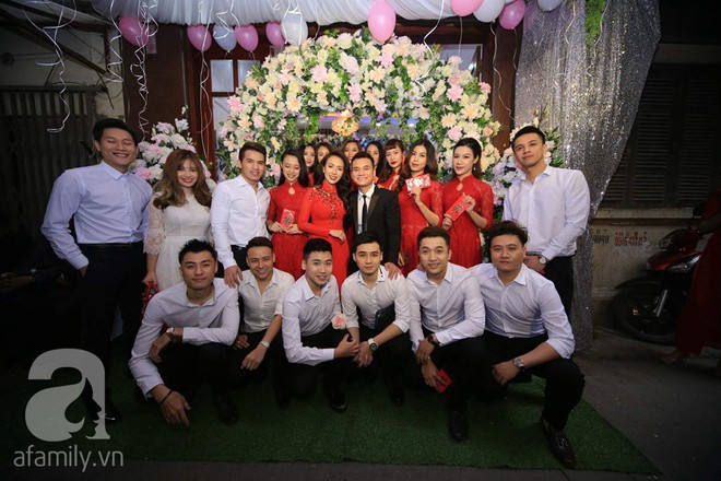 Khắc Việt cùng dàn trai đẹp showbiz mang lễ đến ăn hỏi bạn gái hotgirl - Ảnh 32.