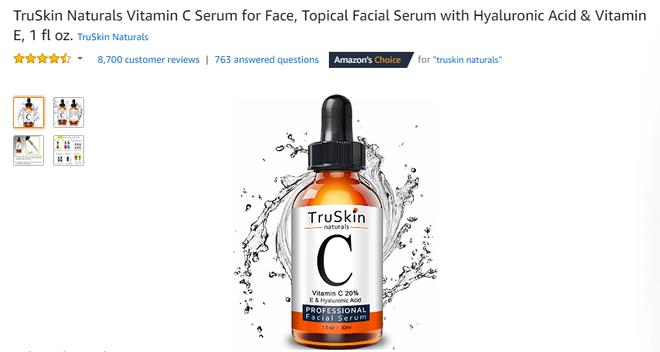 Loại serum vit C giá 455k này có tới 8.000 review tốt trên Amazon và đây là những hình ảnh trước/sau ấn tượng được người dùng chia sẻ - Ảnh 2.